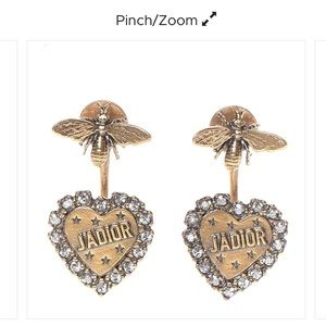 Authentic Dior earrings